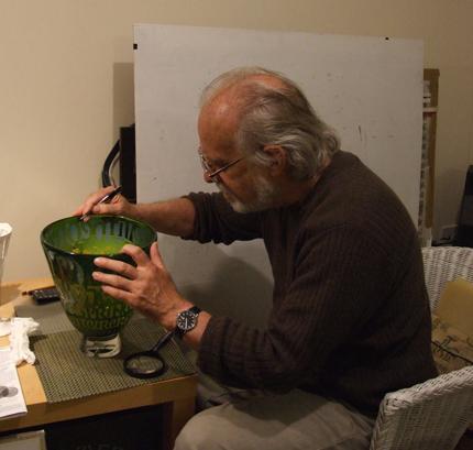 Peter Furlonger at work